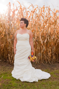 fitted plus size wedding dress