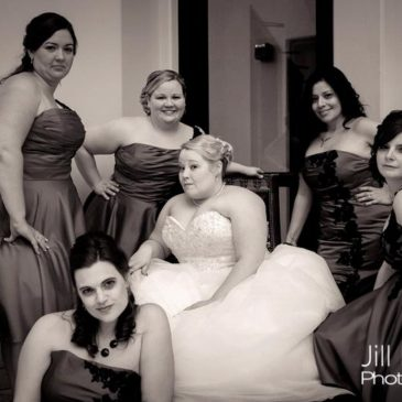 Holly B.'s Amazing Ballgown Wedding Dress