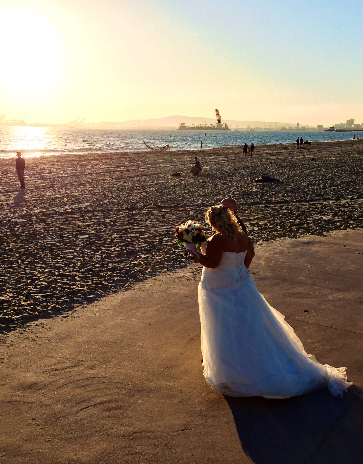 Jill S Rockabilly Wedding In Belmont Shores