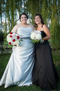 plus size silver wedding dress