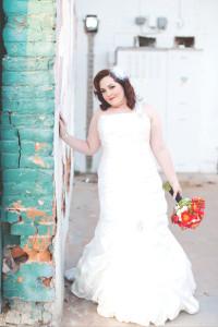 plus size trumpet wedding dress