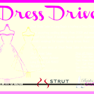 Los Angeles Wedding Dress Donation Drive