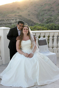 Jessica's Classic Aline Wedding Dress