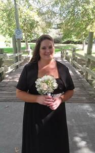 plus size bridesmaid dress