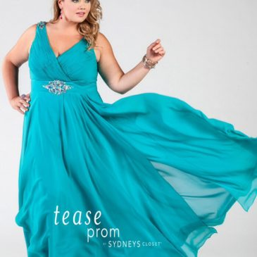 "Best ""Under the Sea"" Theme Plus Size Prom Dresses!"