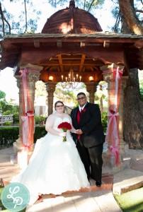 plus size real bride photo