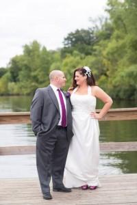 plus size wedding dress halter