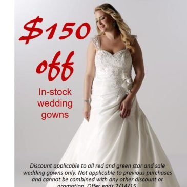 Off the Rack Plus Size Wedding Dress Sale