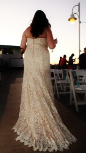 wedding dress plus size champagne