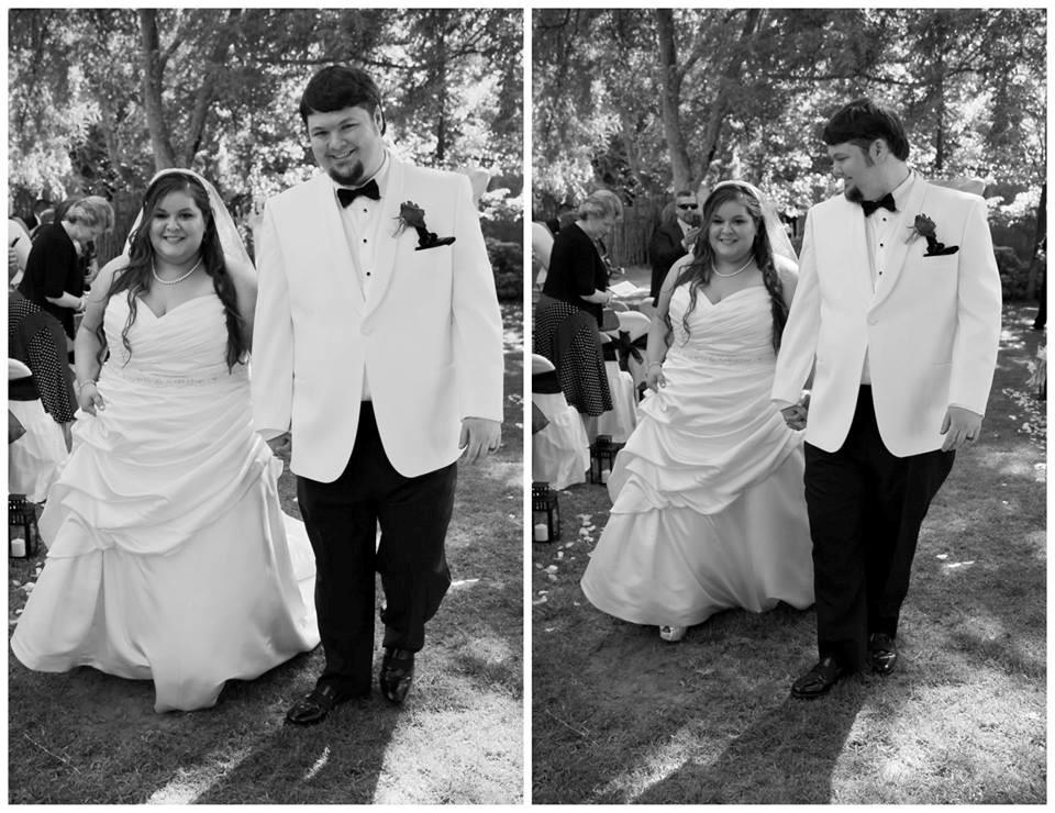 plus size bridal gown strut