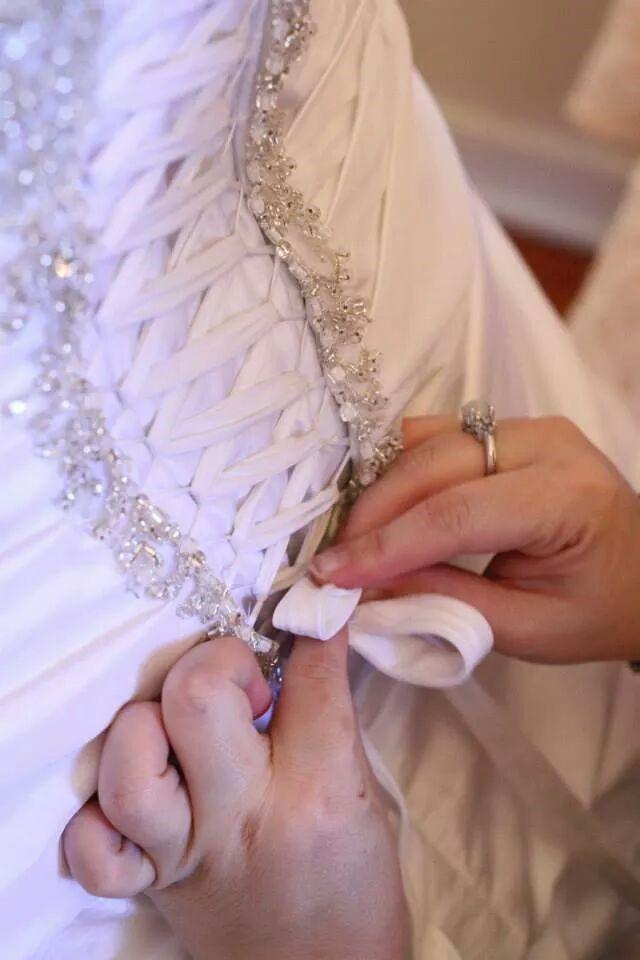 liz 5 lace up corset back