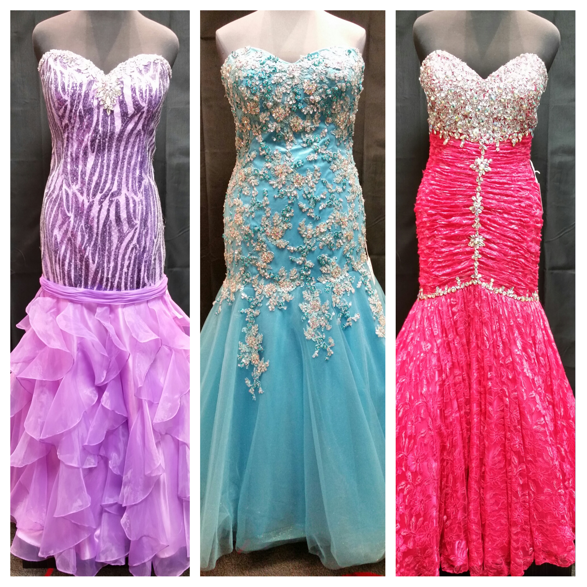 plus size fit and flare prom dresses