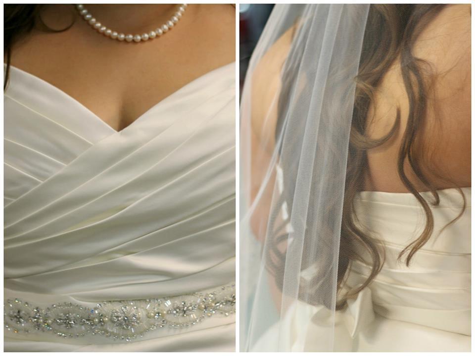 beautiful plus size bride