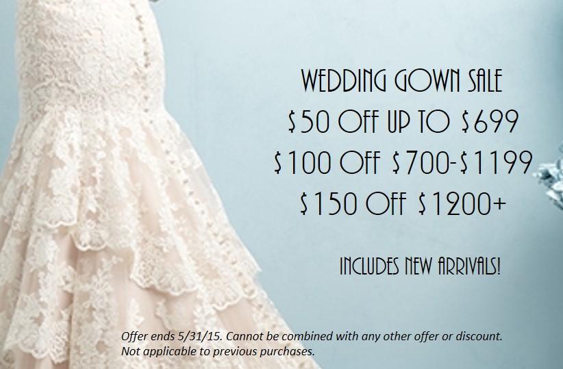wedding dress sale