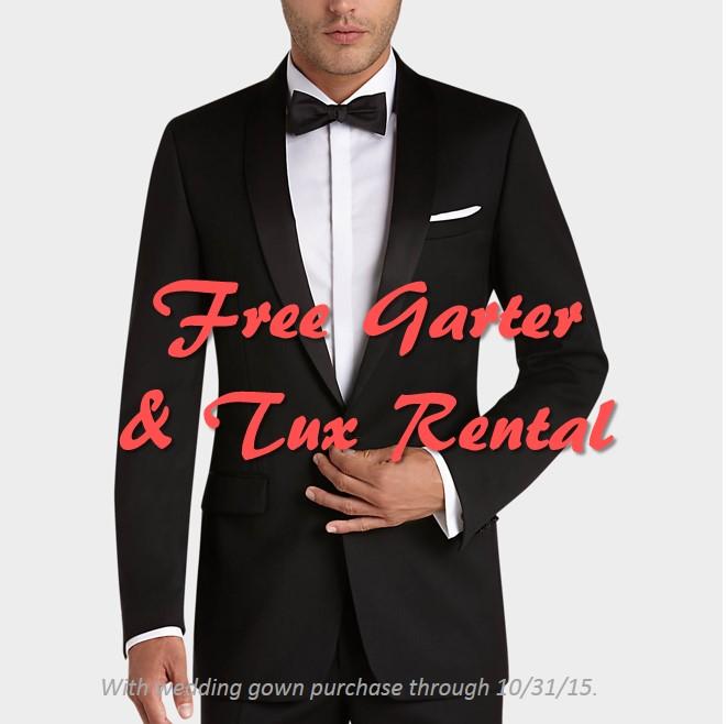 oct promo free tux rental