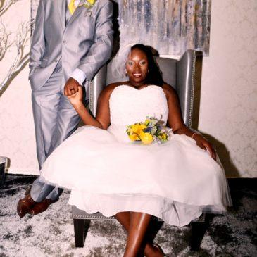 Erika's Tea Length Bridal Gown