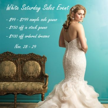 Plus Size Wedding Dress Sample Sale – $99+