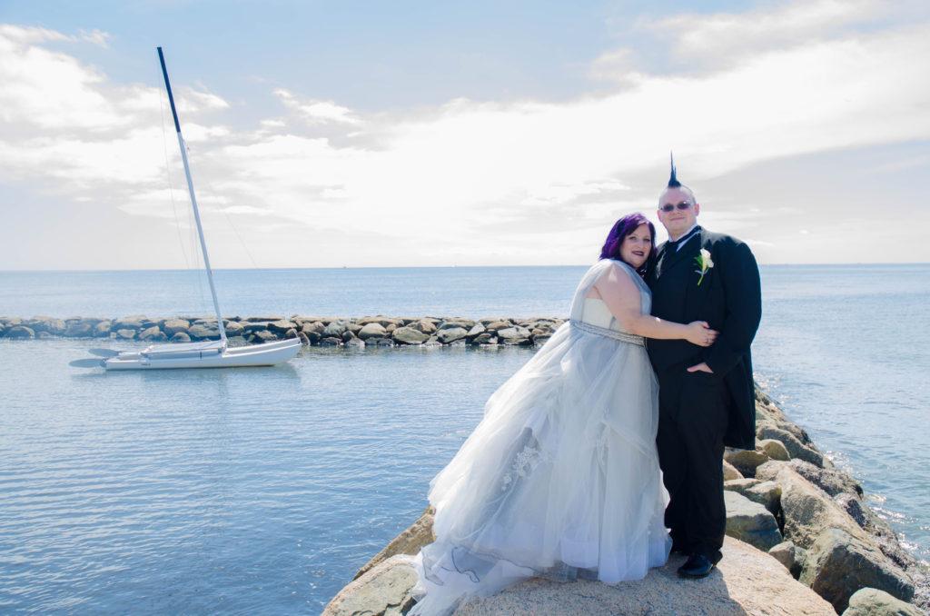 Melissa S Steampunk Goth Victorian Wedding Dress Strut Bridal Salon