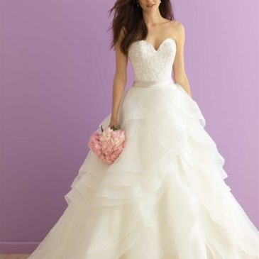 3 of Our Favorite Plus Size Wedding Dresses with Ruffles