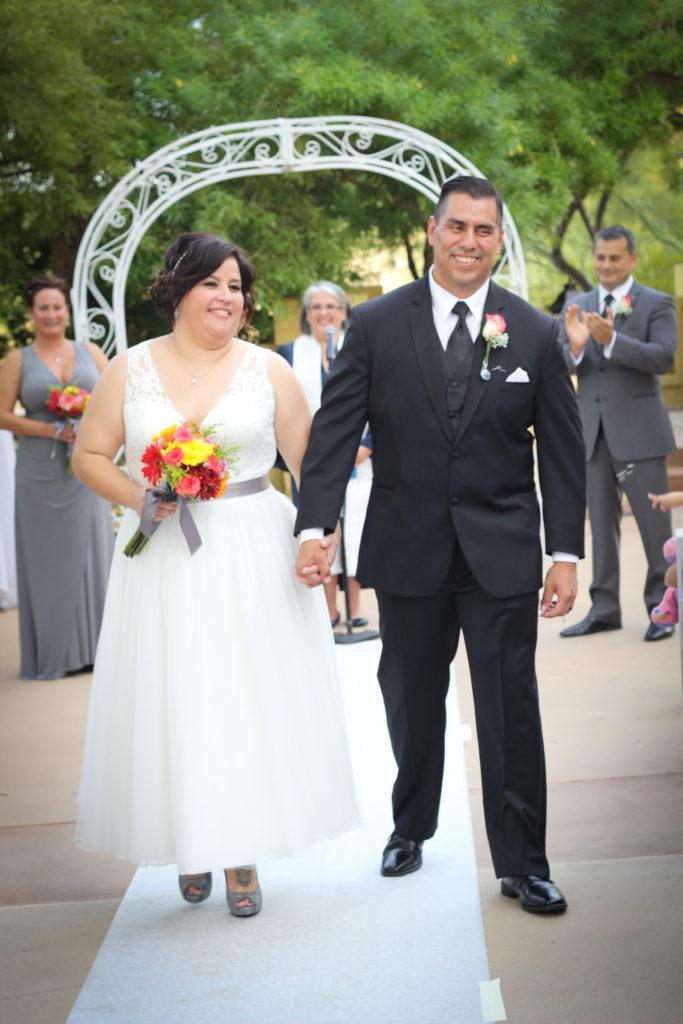 christina plus size tea length wedding dress