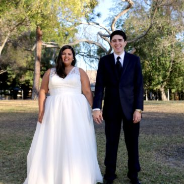 Ashley's Vneck Plus Size Wedding Dress