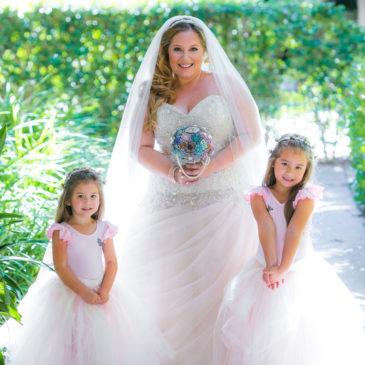 Tara's Sparkly Ballgown – Allure Bridals 8901