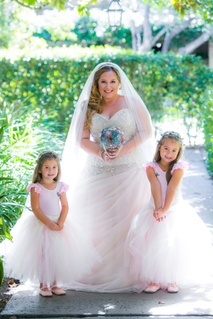 plus size beaded ballgown wedding dress