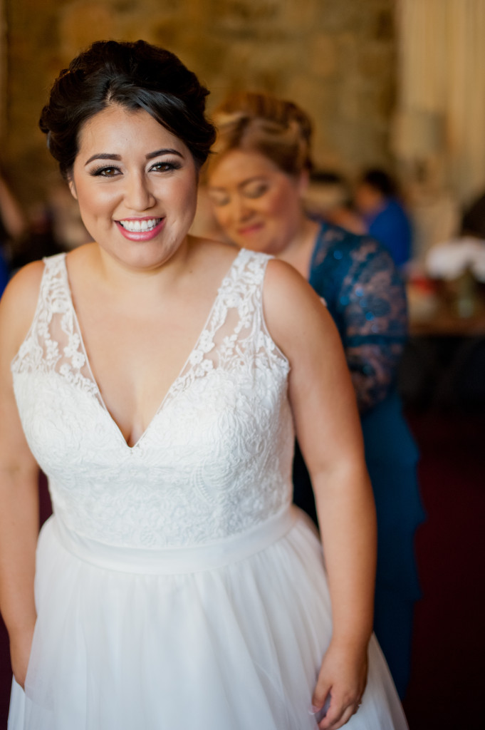 plus size vneck wedding dress