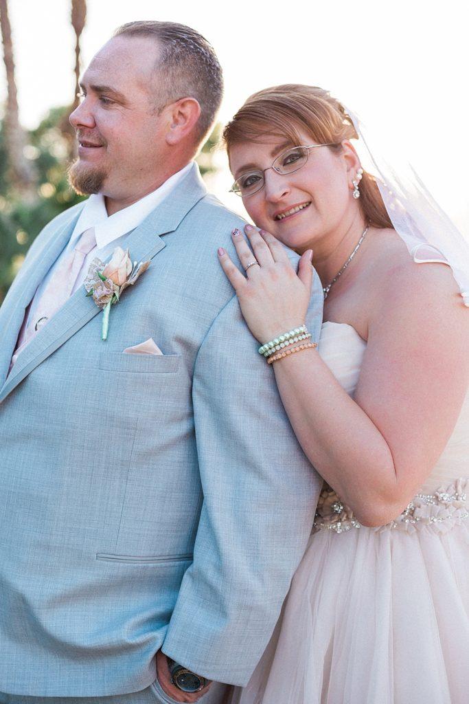 penny blush pink wedding dress