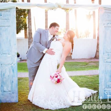 Samantha's Southern Themed Lace Wedding Gown