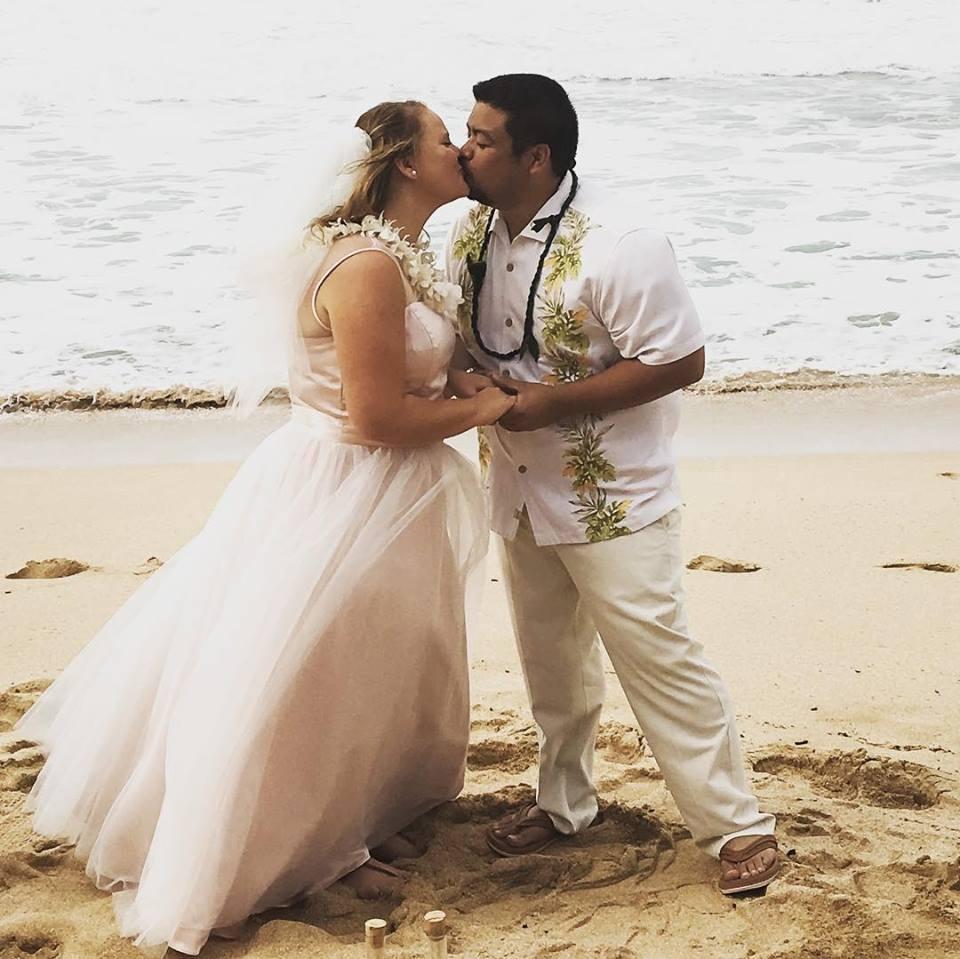 sarah plus size beach wedding dress