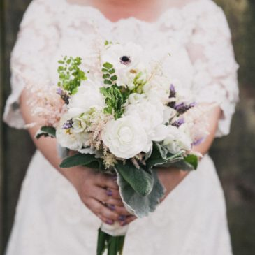 Dana's Lace Wedding Dress with Sleeves