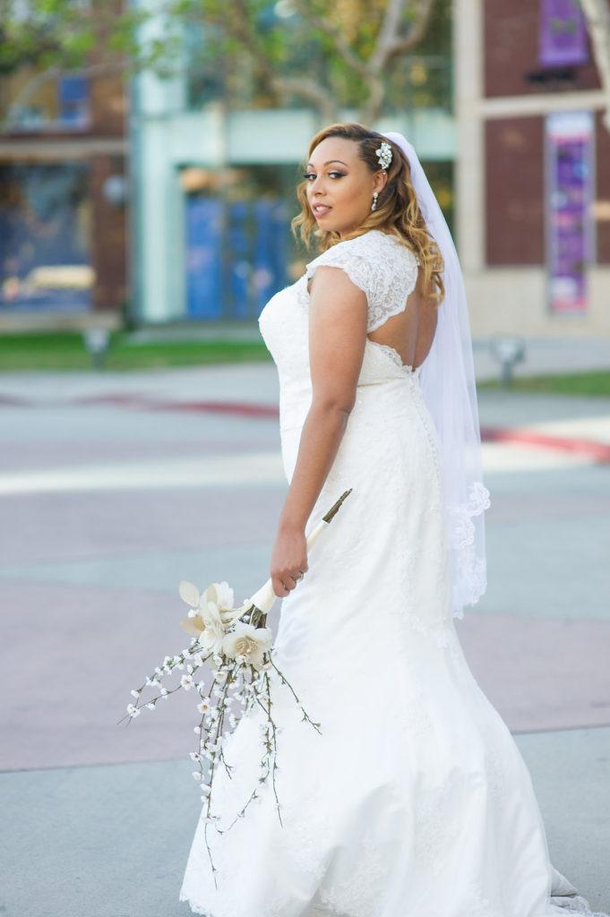 Charmaine S Lace Keyhole Back Wedding Dress Strut Bridal Salon