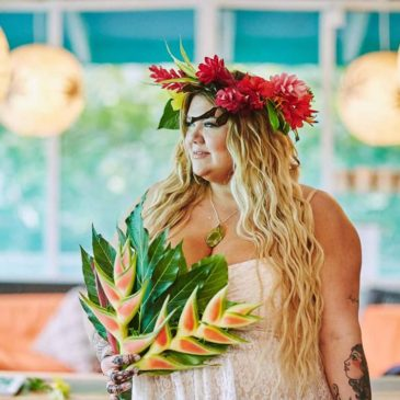 Cory's Jungle Beach Wedding