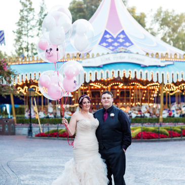 Amanda's Stunning Disneyland Wedding
