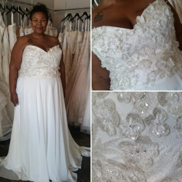 NEW ARRIVAL – Plus Size Wedding Dress Separates