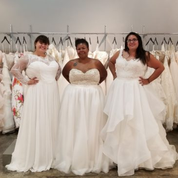 Surprise: 2 in 1 Wedding Dresses