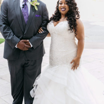 Amber & Garon's Elegant Ceremony at The Performing Arts Center in Cerritos, CA