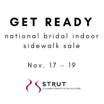 Bridesmaid Dress Sale – November 17 – 19
