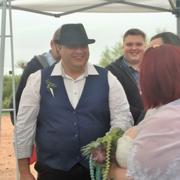 Valerie's Wedding at Lost Dutchman State Park