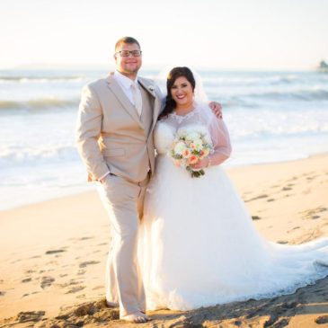 Kristy's Perfect Beach Wedding on Imperial Beach