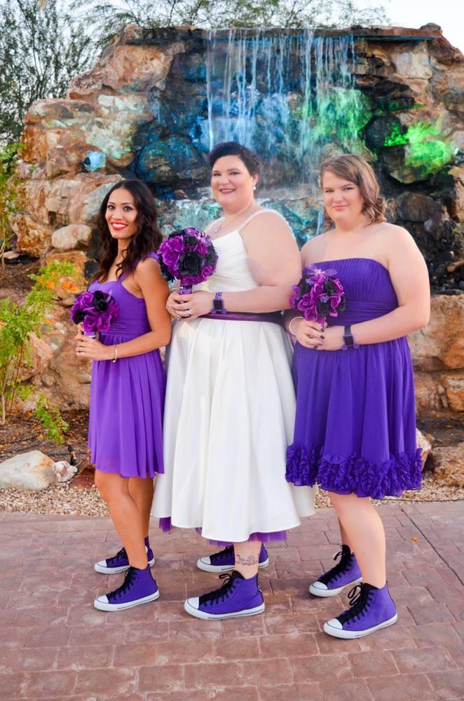 samantha plus size purple bridesmaid dresses - Strut Bridal ...