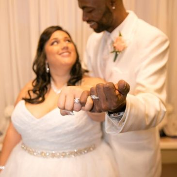 Felicia's Custom Plus Size Wedding Gown