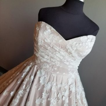 New Arrival: A Plus Size Blush Ballgown Fit for a Princess