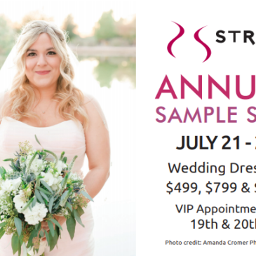 Plus Size Wedding Dress Sample Sale Starts Saturday