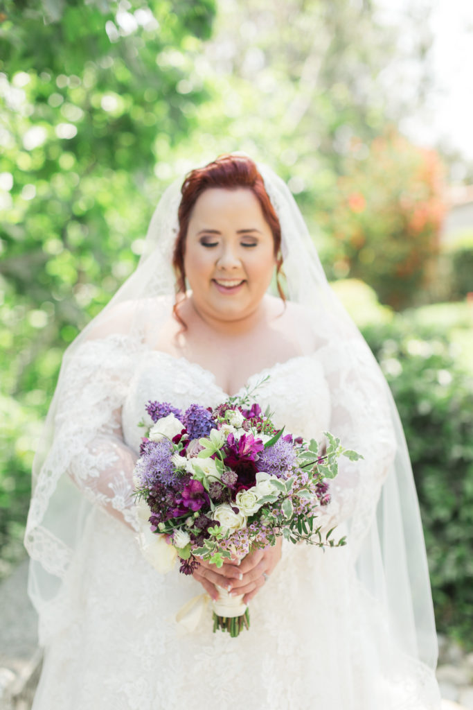 plus size lace wedding dress with sleeves