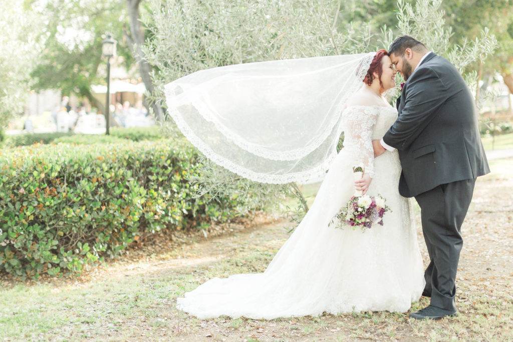 custom plus size lace wedding dress with sleeves Los Angeles