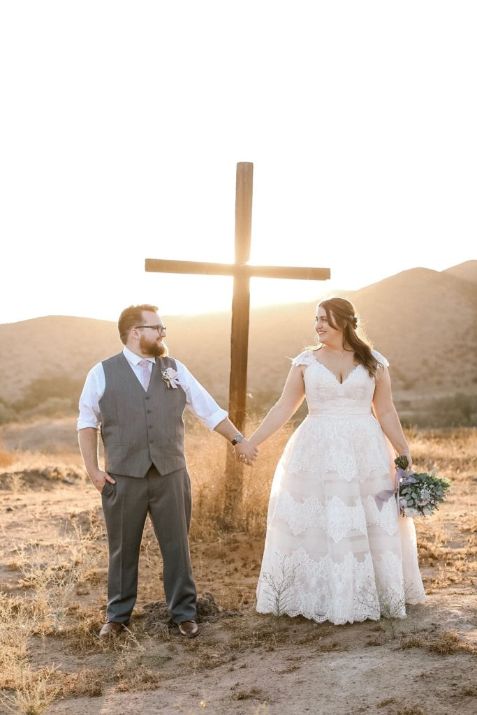 country chic lace and tulle ballgown with cap sleeves Los Angeles, CA