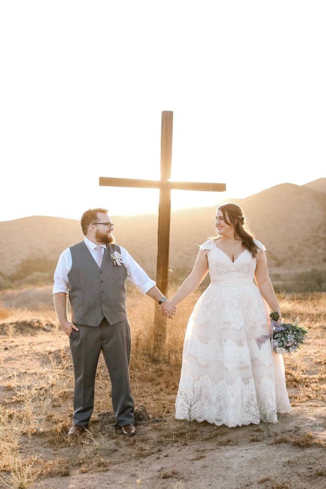 Alicia's Lace Ballgown Wedding Dress