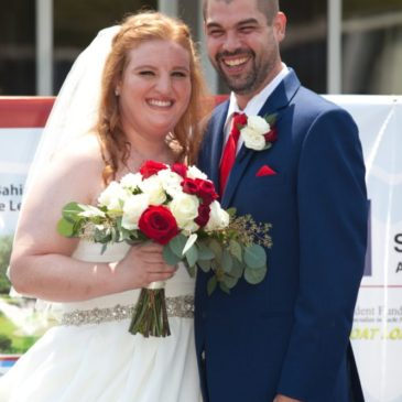 Rachel's Chiffon Ballgown Wedding Dress